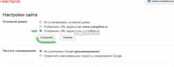 Как правильно указать поисковикам Google на главное зеркало