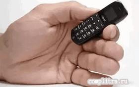 самый маленький телефон