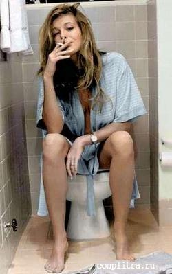 туалето море - бумага