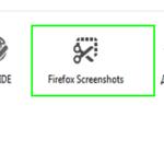Как включить скриншот в браузере Firefox