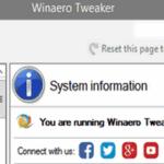 утилита Winaero Tweaker