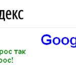 Яндекс Google