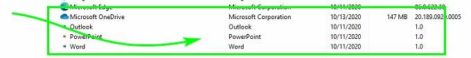 приложения Microsoft