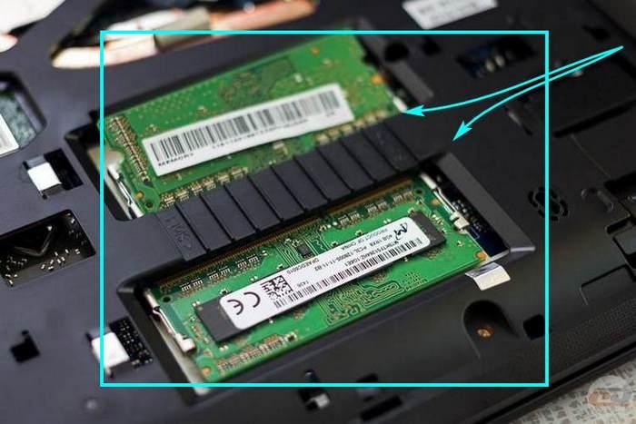 планка памяти ноутбука
