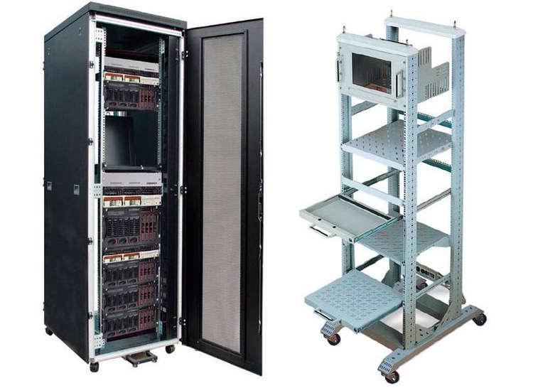 Телекоммуникационный шкаф или стойка