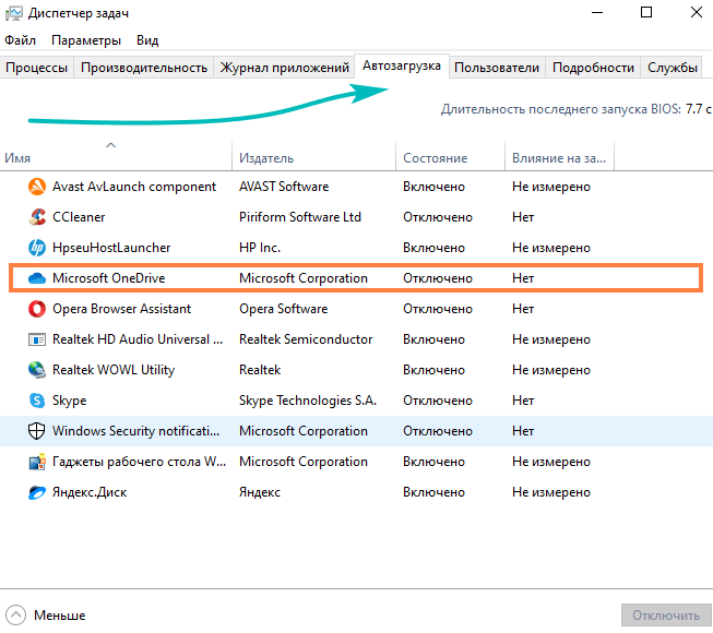 Нужен ли Microsoft OneDrive в автозапуске - нужен ли Microsoft OneDrive в автозапуске?